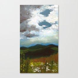 Smokey Mountain Oil Canvas Print