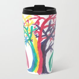 Tree of Strife Metal Travel Mug