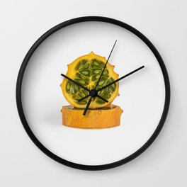 Kiwano Melon Wall Clock