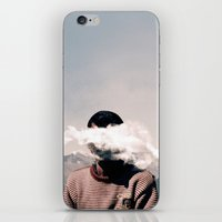 cloud iPhone & iPod Skins featuring cloud by Monika Traikov