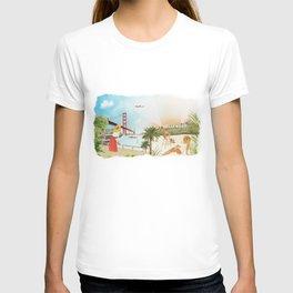 San Francisco + Los Angeles T-shirt