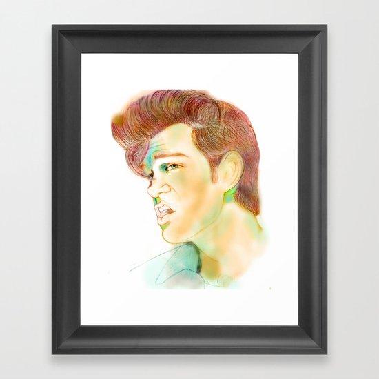 """""""Mr. Isaak"""" Framed Art Print"""