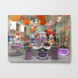 Candy Shop Still Life Metal Print