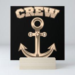 ANCHOR SAILING CREW SAILING CREW Gift Sailor Mini Art Print