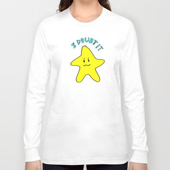 Skeptical star Long Sleeve T-shirt