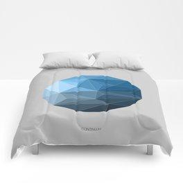 Continuum grey Comforters