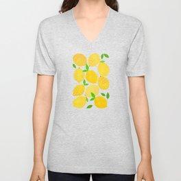 Lemon Crowd Unisex V-Neck
