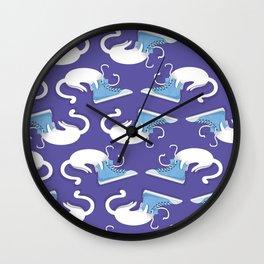 Cat Hat Wall Clock