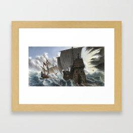 Sea of Chaos Framed Art Print