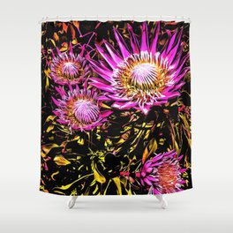 King Proteas Shower Curtain