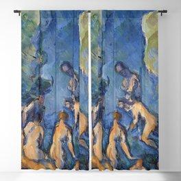 Paul cezanne Bathers (Baigneurs) 1902-1904 Blackout Curtain