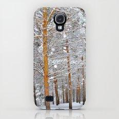 Deep forest. Snow Galaxy S4 Slim Case