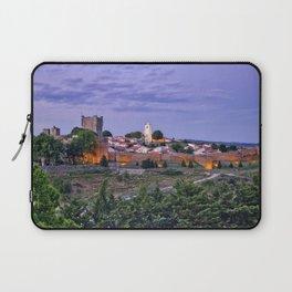 Braganca, Portugal at dusk Laptop Sleeve