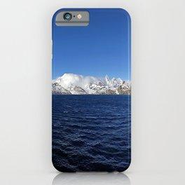 Antarctic Mountain Range iPhone Case