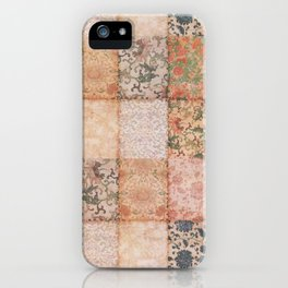 Vintage Textures iPhone Case