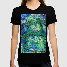 Claude Monet Japanese Bridge T-shirt