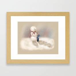 Seek to New Heights Framed Art Print