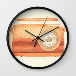 Radio Silence Wall Clock