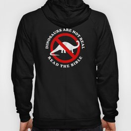 Dinosaurs Are Not Real Read The Bible Hoody
