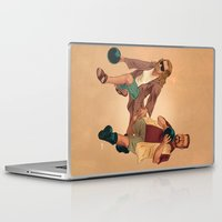 the big lebowski Laptop & iPad Skins featuring Big Lebowski by Dave Collinson