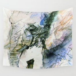 Elephant Queen Wall Tapestry