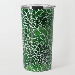 Floral Abstract 23 Travel Mug