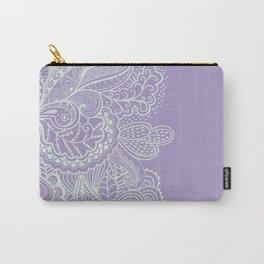 Purple Mehndi II Carry-All Pouch