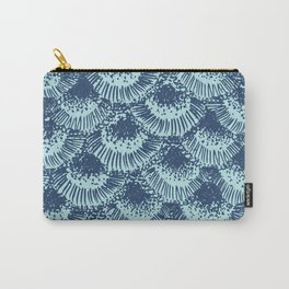 Seafoam Coral Carry-All Pouch