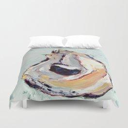 Oyster shell Duvet Cover