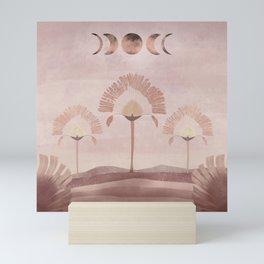 Moon Salutation - Imaginary Landscape V. Mini Art Print
