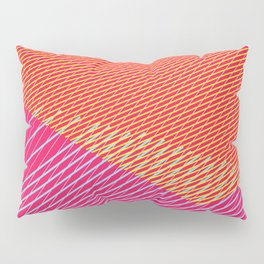 Color lines Pillow Sham