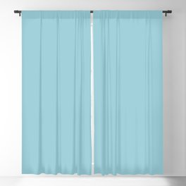 DPCSD Neutral bcyan color Blackout Curtain