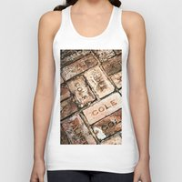 palestine Tank Tops featuring Stepping on History by J.LaShaye