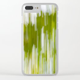 Bright Nature Sweep Clear iPhone Case