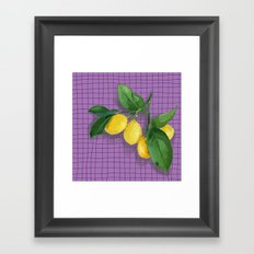 Lemonade Framed Art Print