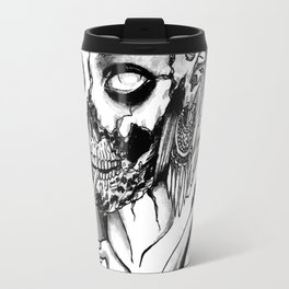 Smoking Zombie Travel Mug