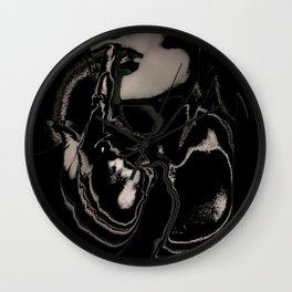 She / Black Madonna Wall Clock