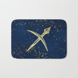 Sagittarius Zodiac Sign Bath Mat