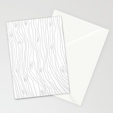 woodgrain Stationery Cards