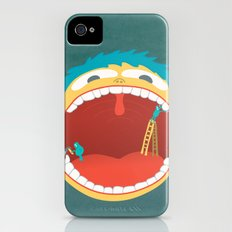 Oh, They're Teeth People! iPhone (4, 4s) Slim Case
