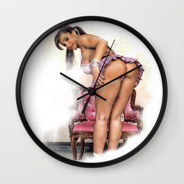 Lovely Lisa Wall Clock