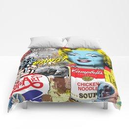 Pop Art Montage Comforters