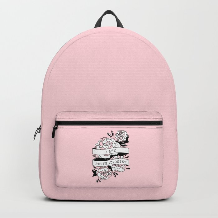 lazy perfectionist Backpack