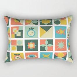 Geometric pattern #2 Rectangular Pillow