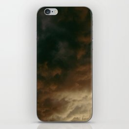 Caught In The Rain iPhone Skin