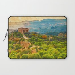 Agrigento and the Valley of the Temples Laptop Sleeve