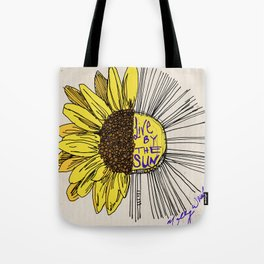 Live By the Sun Tote Bag