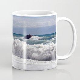WAVES on the EAST-COAST of SICILY Coffee Mug