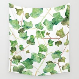 English Ivy Pattern Wall Tapestry