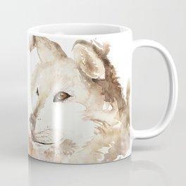Wolf in the Mist Coffee Mug